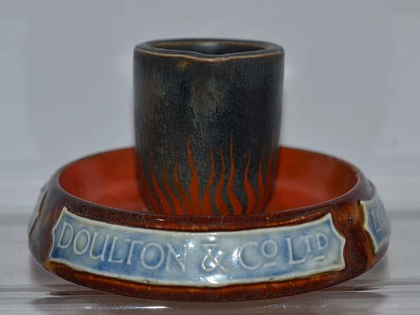 DOULTON FACTORY ADVERTISING DISH.